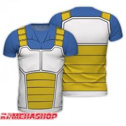 T-shirt Vegeta Armure Saiyan  -  DRAGON BALL Z