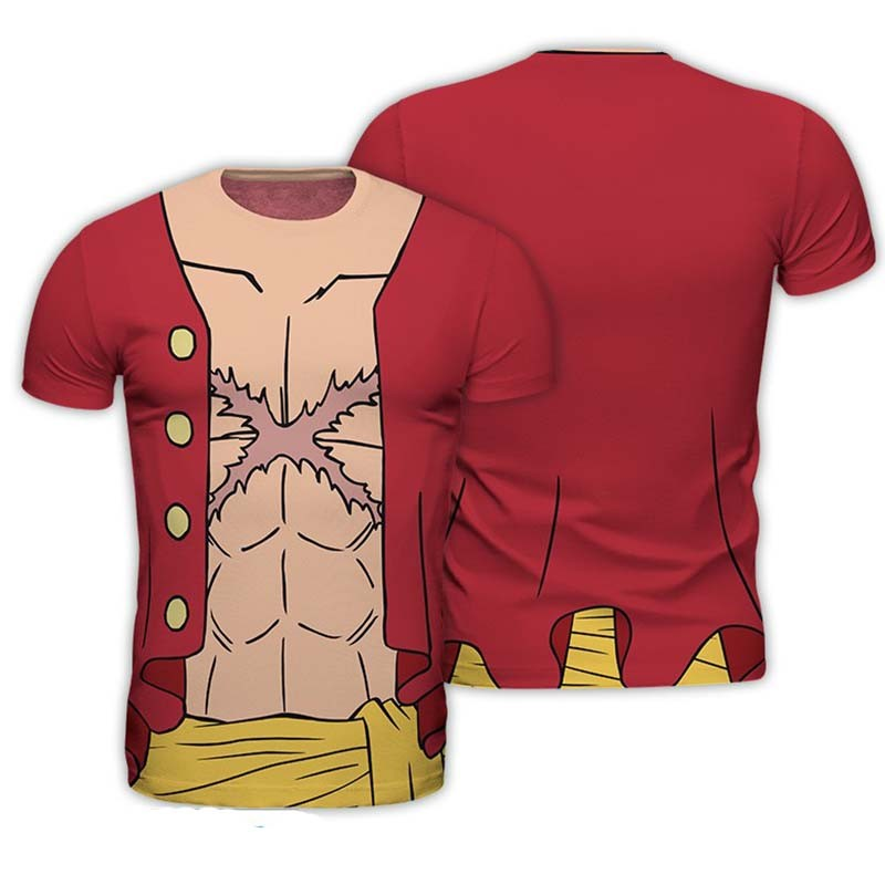 One Piece - T-shirt Luffy Cosplay  -  ONE PIECE