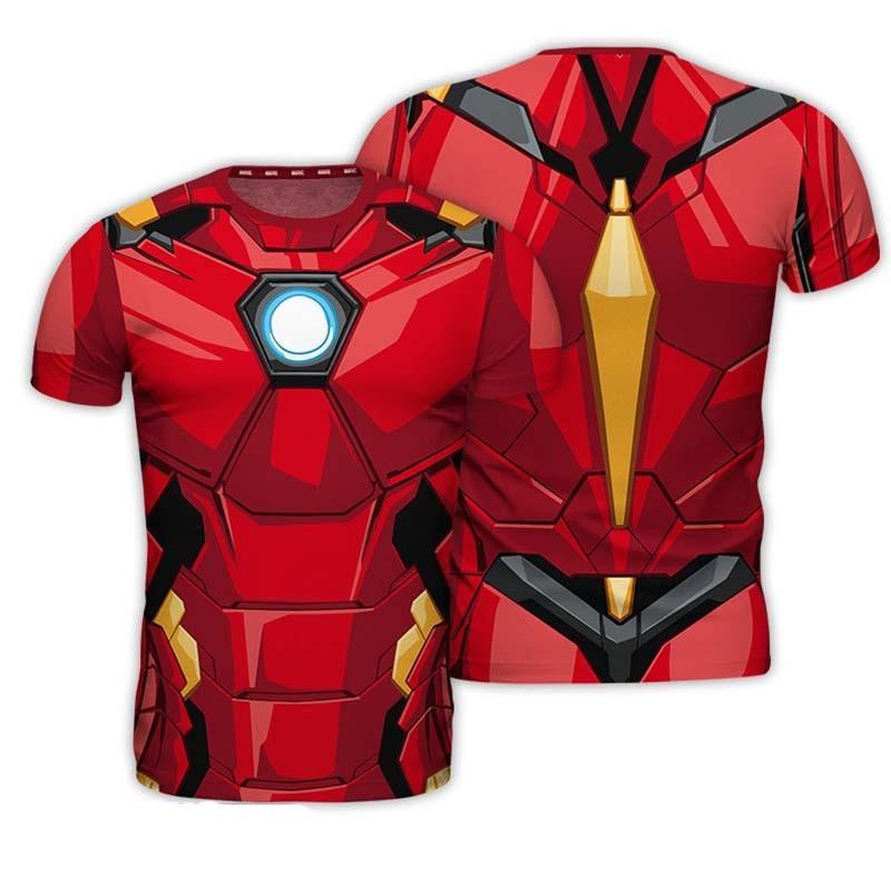 T-shirt Iron Man  - DC. COMICS & MARVEL