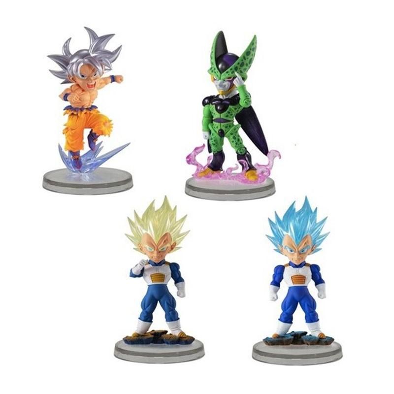 Dragon Ball Super - Set de 4 figurines UG  -  DRAGON BALL Z
