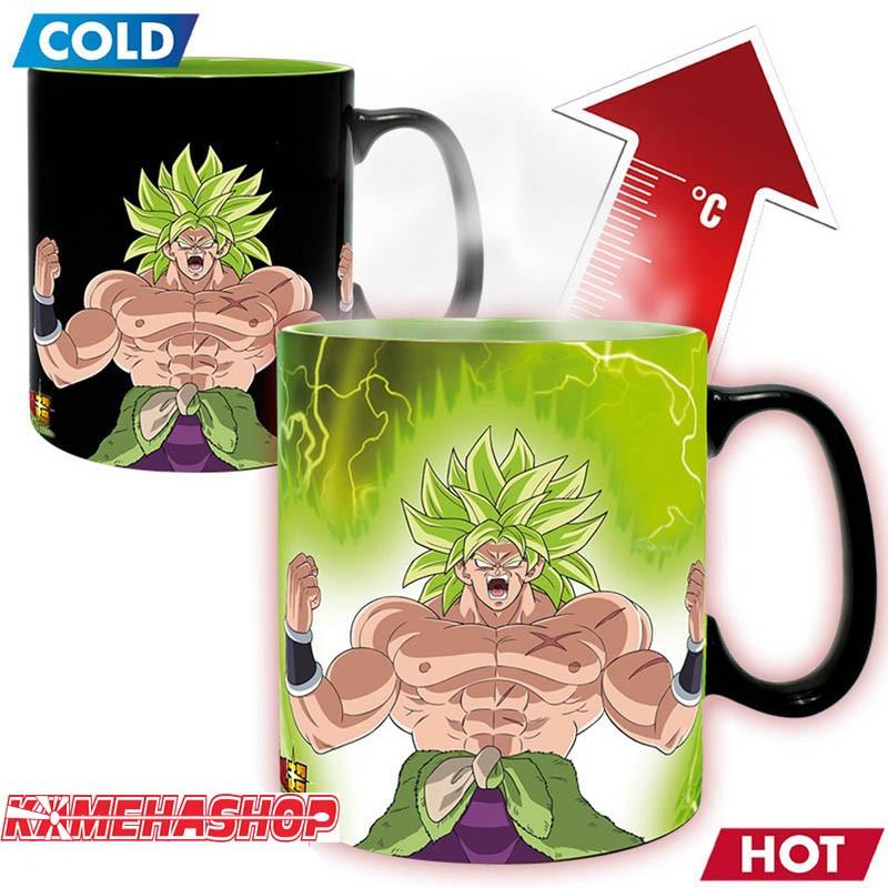 Dragon Ball Super - Mug Thermo-Récatif Broly  -  DRAGON BALL Z