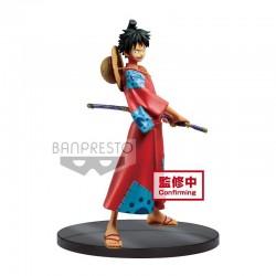 One Piece - Figurine Luffy Wanokuni GLM  -  ONE PIECE