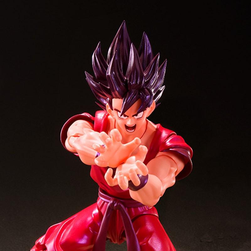 Dragon Ball Z - Figurine Goku Kaioken S.H Figuarts  -  DRAGON BALL Z