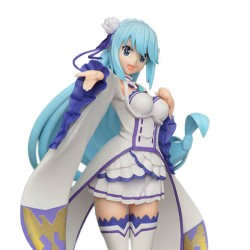Kono Subarashii - Figurine Aqua Emilia ver  - AUTRES FIGURINES