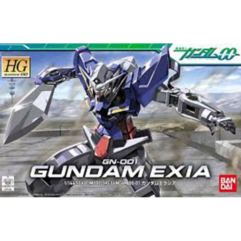 Gundam Exia GN001 HG  -  GUNDAM