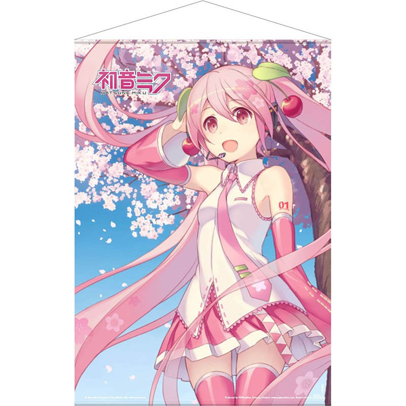 Wallscroll Miku Hatsune Cherry Blossom  - POSTERS & AFFICHES
