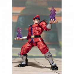Street Fighter - Figurine M.Bison S.H Figuarts  - JEUX VIDEO