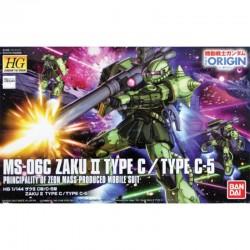 Gundam Zaku II Type C / Type C-5 HG  -  GUNDAM