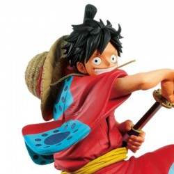 Figurine Luffy Wanokuni - King of Artist  -  ONE PIECE