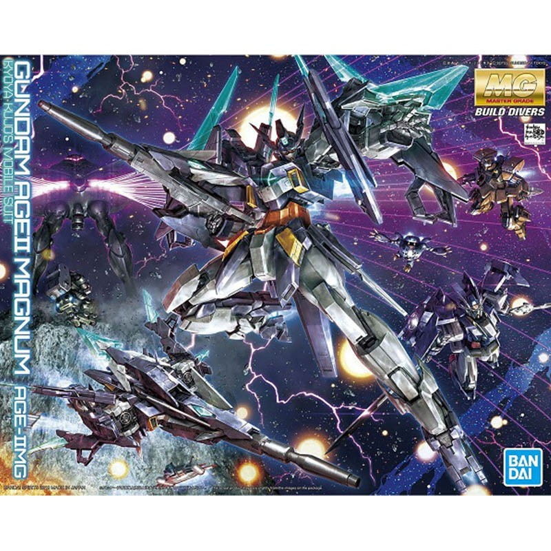 Gundam AGEII Magnum MG  -  GUNDAM