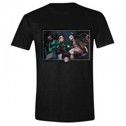 Demon Slayer - T-shirt Tanjiro et Nezuko  -  T-SHIRTS & VETEMENTS
