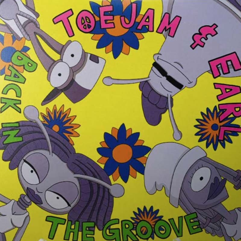 Toe Jame and Earl OST Disque Vinyle 2LP  - VINYLE MANGA & JEUX VIDEO