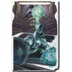 Silver Surfer Litho - Simone bianchi  - POSTERS & AFFICHES