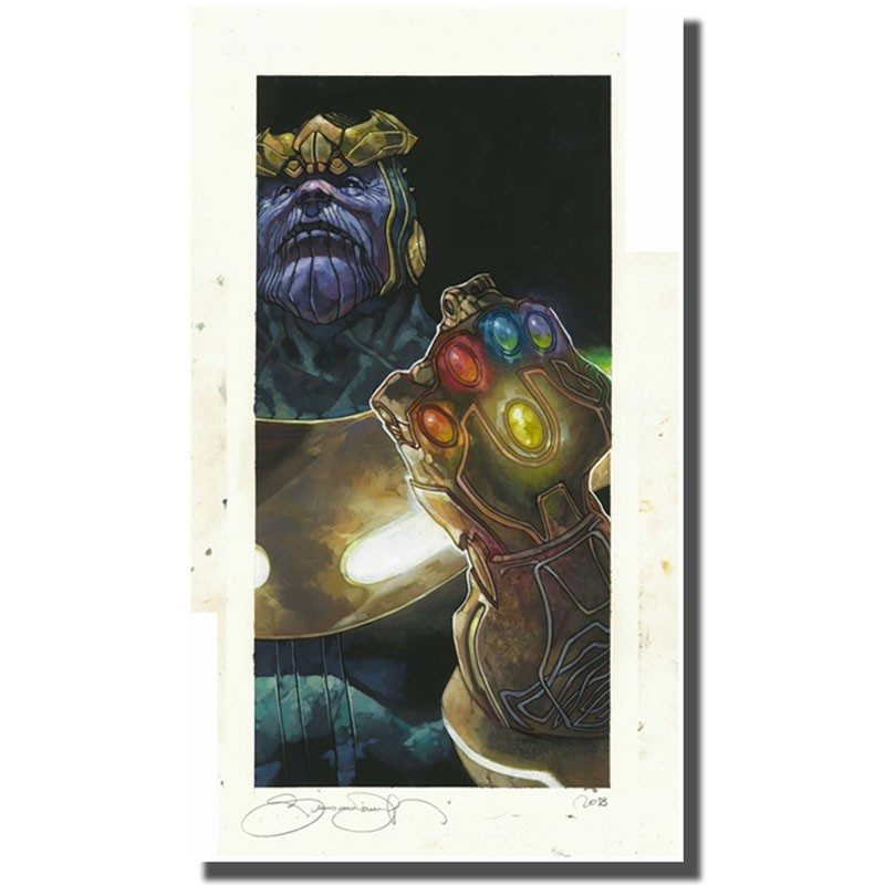 Thanos Litho - Simone Bianchi  - POSTERS & AFFICHES