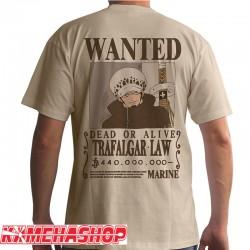 One Piece - T-shirt Trafalgar Law Wanted  -  ONE PIECE