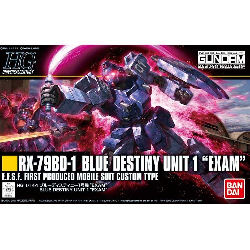 Gundam RX-79BD-1 Blue Destiny Unit 1 HG  -  GUNDAM