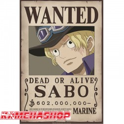 Affiche Wanted Sabo  -  ONE PIECE