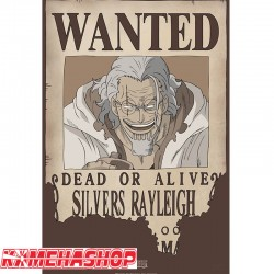 Affiche Wanted Rayleigh  -  ONE PIECE