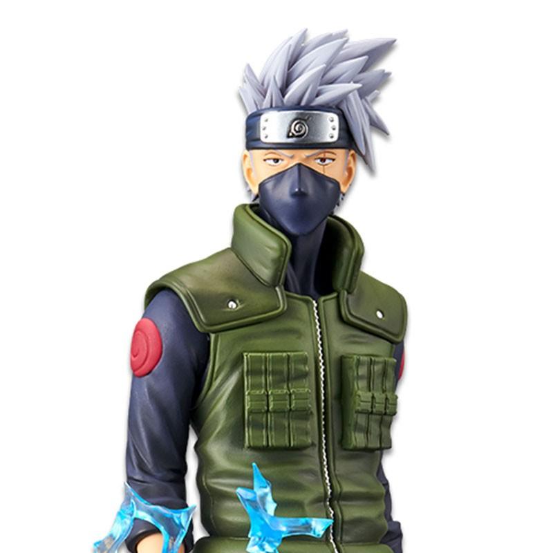 Naruto - Figurine Kakashi Grandista Nero  -  NARUTO
