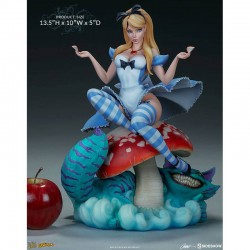 Alice in Wonderland J. Scott Campbell - Sideshow  - FIGURINES FILLES SEXY