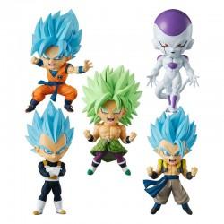 Dragon Ball Super - Set 5 Figurines Chibi Masters  -  DRAGON BALL Z