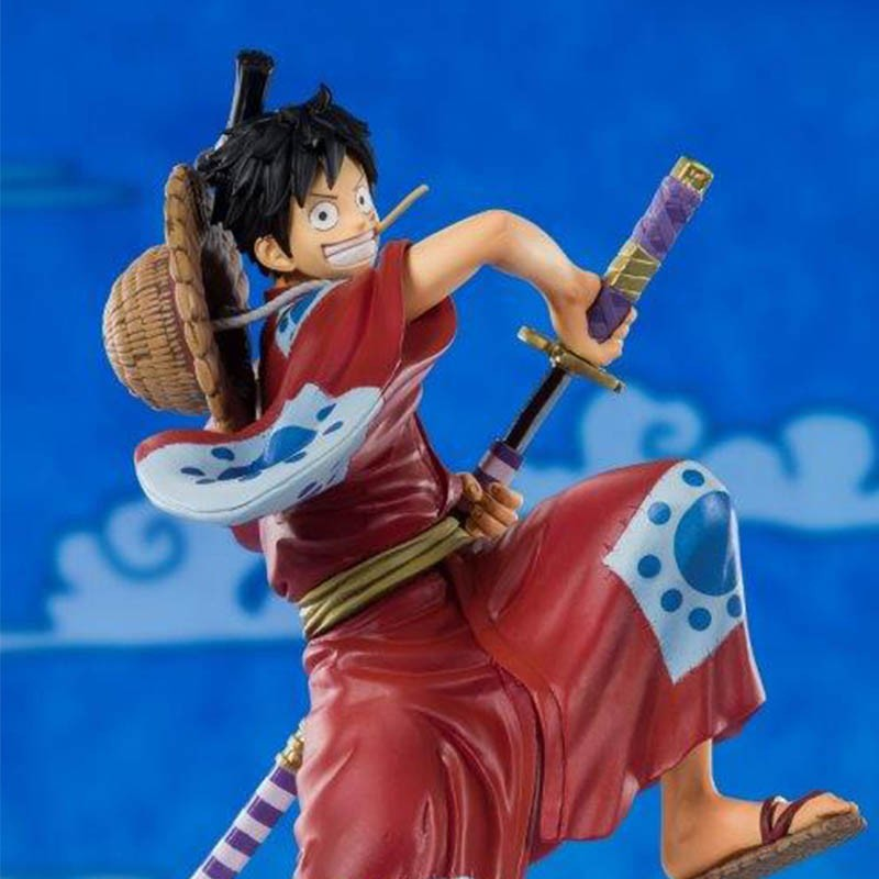 One Piece - Figurine Luffy Figuarts Zero Wano  -  ONE PIECE