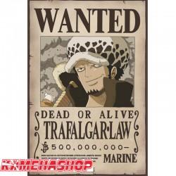 One Piece - Affiche Wanted de Trafalgar Law  -  ONE PIECE