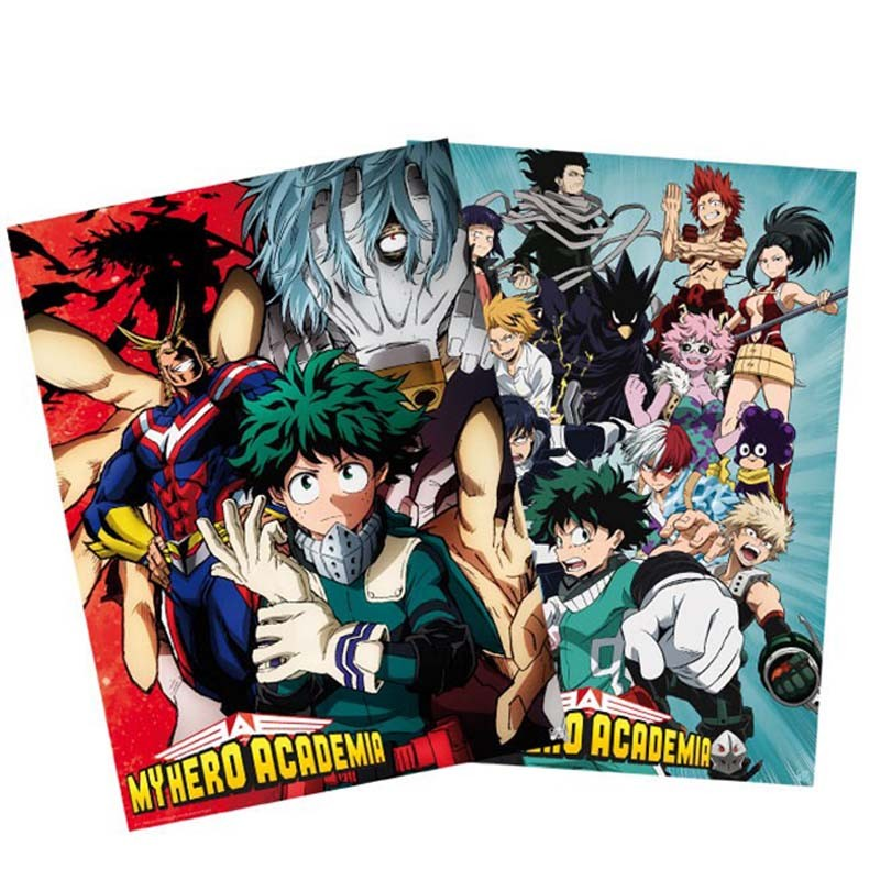 My Hero Academia - Set 2 posters  - POSTERS & AFFICHES