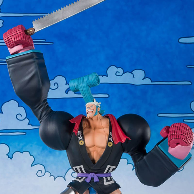One Piece - Figurine Franky Figuarts Zero Wano  -  ONE PIECE