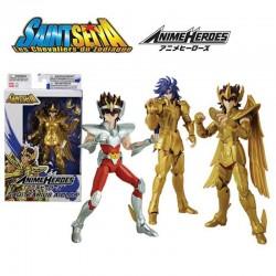 Saint Seiya - Set 3 Figurines articulées  -  SAINT SEIYA