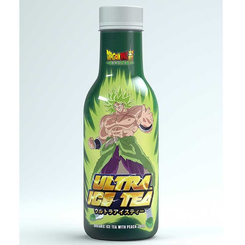 Dragon Ball Super - Boisson Ultra Ice Tea Broly  -  DRAGON BALL Z
