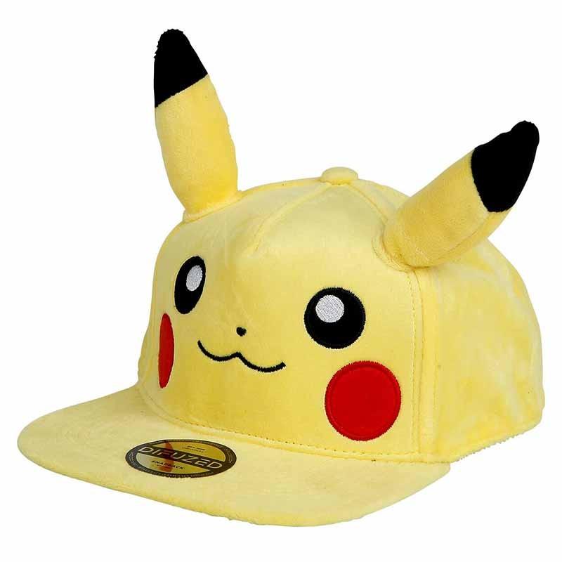 Pokemon - Casquette Pikachu  - JEUX VIDEO