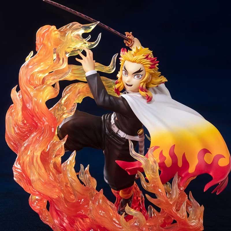 Demon Slayer - Figurine Kyojuro Rengoku - Figuarts Zero  - AUTRES FIGURINES