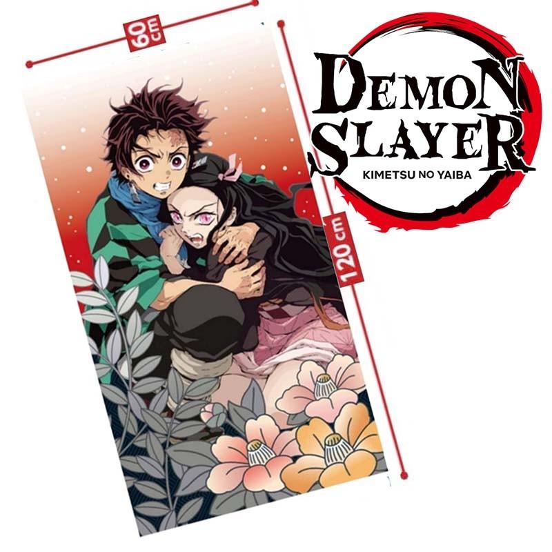 Demon Slayer - Serviette Fight  - TOUS NOS RAYONS