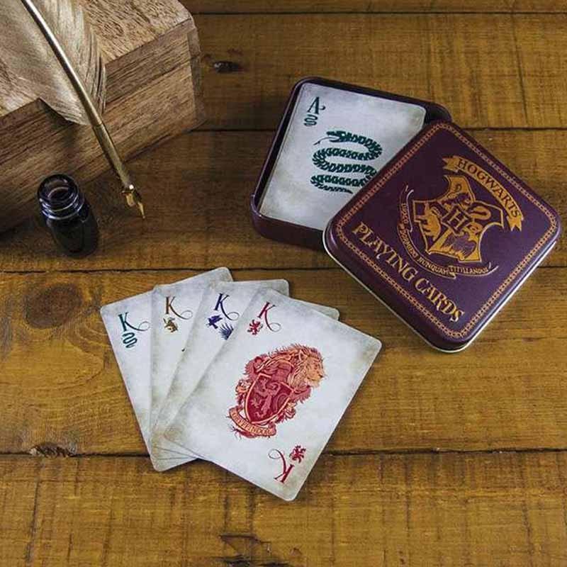 Harry Potter - Jeux de cartes à jouer Poudlard  - AUTRES GOODIES