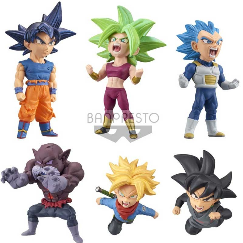 Dragon Ball Super - Set 6 figurines WCF Battle  -  DRAGON BALL Z