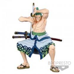 One Piece - Figurine Zoro Wano - SMSP  -  ONE PIECE