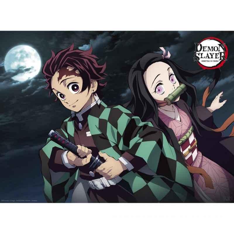 Demon Slayer - Poster Tanjiro et Nezuko  - POSTERS & AFFICHES