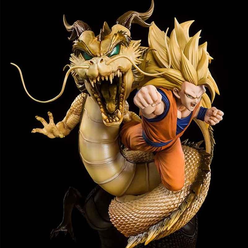 Dragon Ball Z - Figurine Goku SSJ3 - Figuarts Zero  -  DRAGON BALL Z