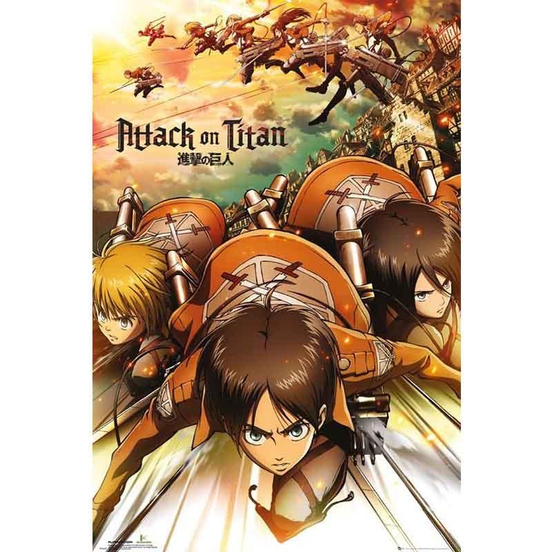 Attack on Titan - Poster Attack  - L'ATTAQUE DES TITANS