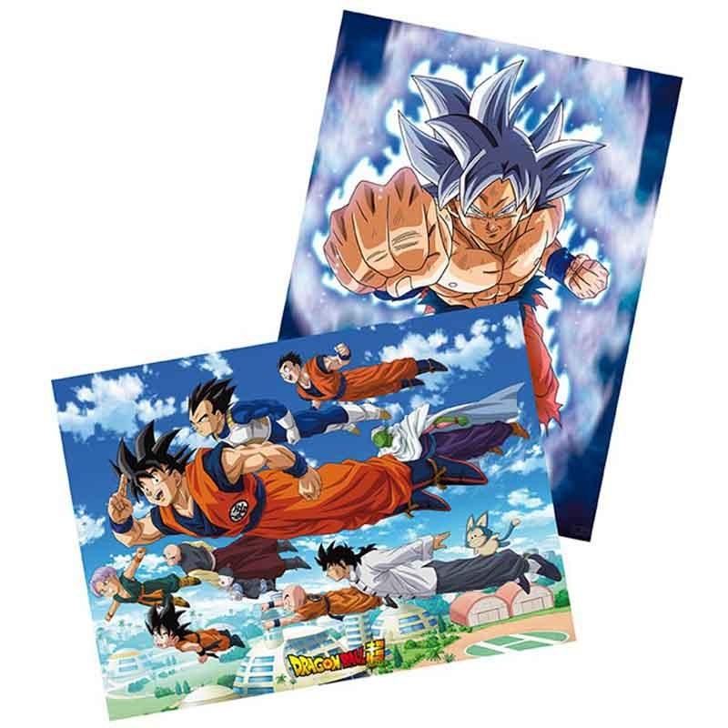 Dragon Ball Super - Set 2 Posters Goku  -  DRAGON BALL Z