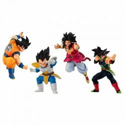 Dragon Ball Super - Set de 4 Gashapon VS 16  - TOUS NOS RAYONS