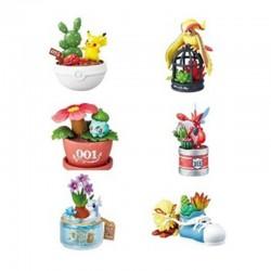 Pokemon - Set 6 Figurines Pocket Botanical  - AUTRES FIGURINES