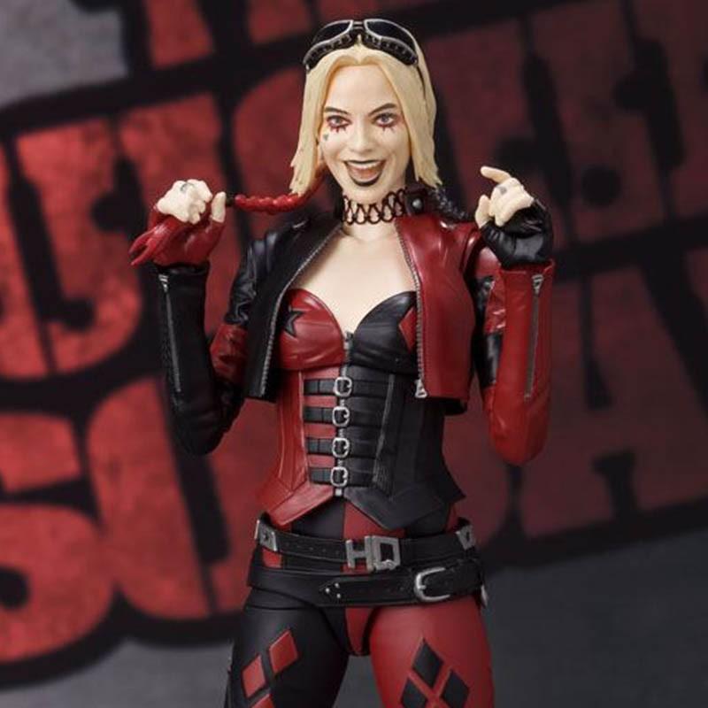 Suicide Squad - Figurine Harley Quinn - S.H Figuarts  - DC. COMICS & MARVEL