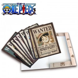 Collection 9 Posters Wanted One Piece New World Prime  -  ONE PIECE