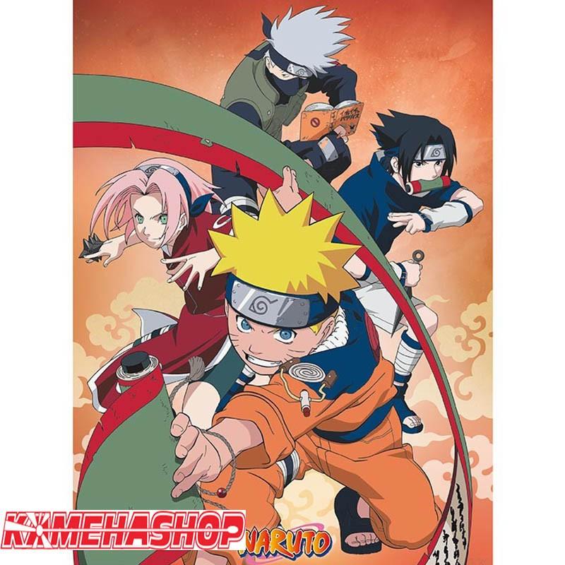 Naruto - Poster Equipe 7  -  NARUTO