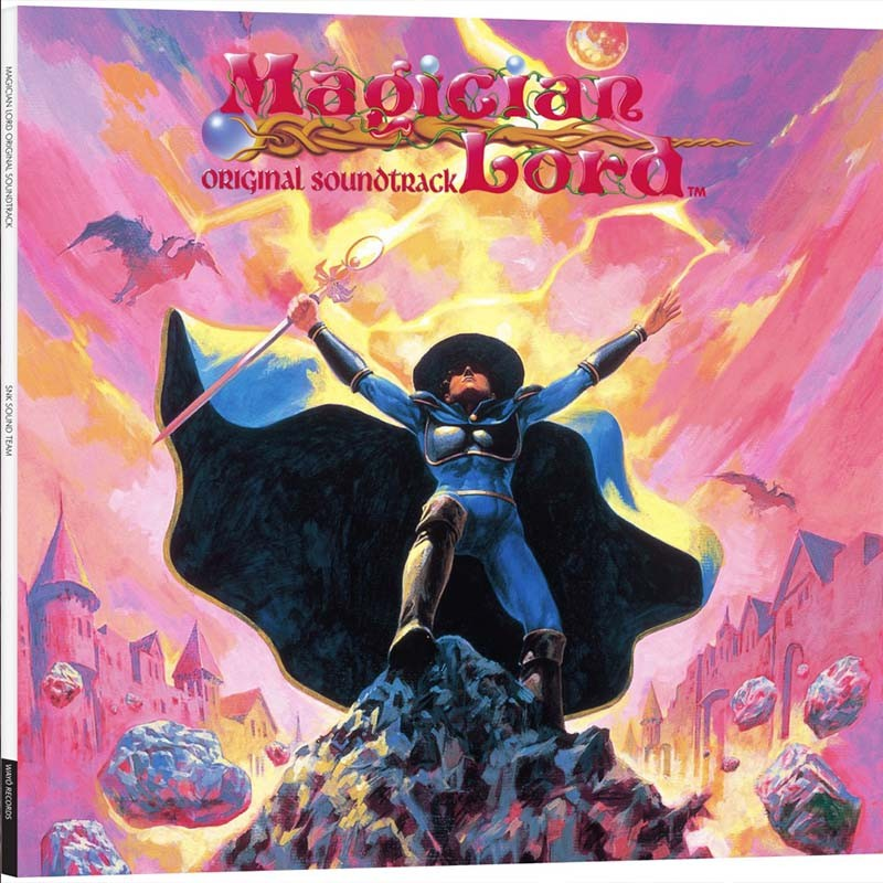 Magician Lord - Disque Vinyle OST  - VINYLE MANGA & JEUX VIDEO