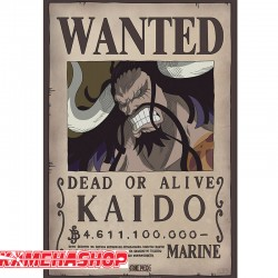 One Piece - Affiche Wanted Kaido  -  ONE PIECE