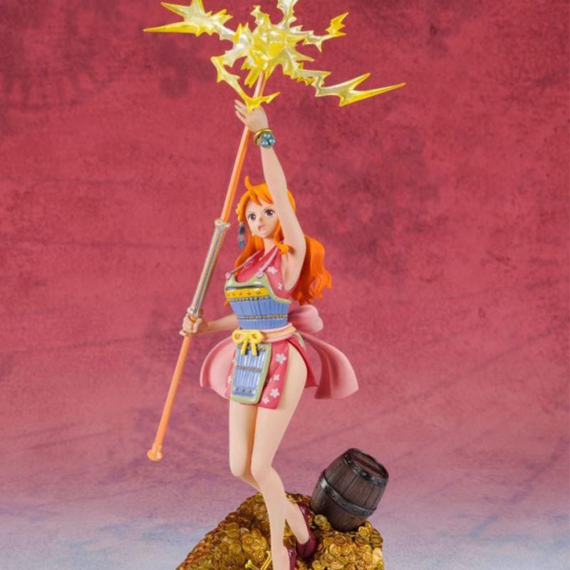 One Piece - Figurine Nami - Figuarts Zero WT100 Eiichiro Oda  -  ONE PIECE