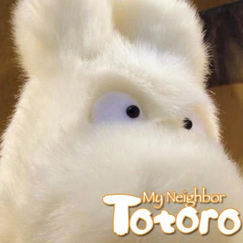 Totoro - Peluche Totoro Blanche - Sun Arrow - Taille M  -  TOTORO - GHIBLI